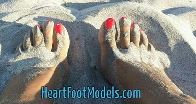 Heart Foot Models free
